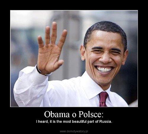 Obama o Polsce: