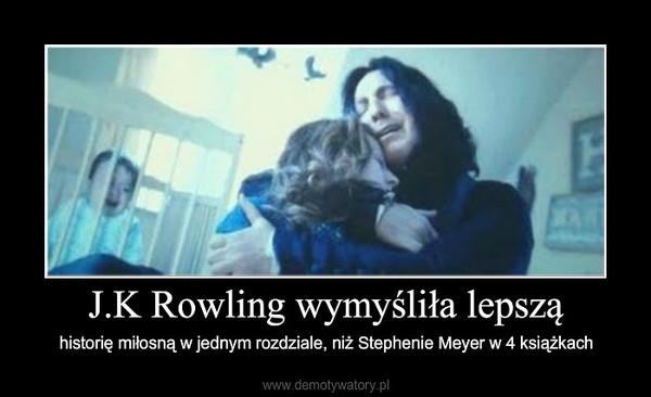 J.K Rowling wymyśliła lepszą – historię miłosną w jednym rozdziale, niż Stephenie Meyer w 4 książkach