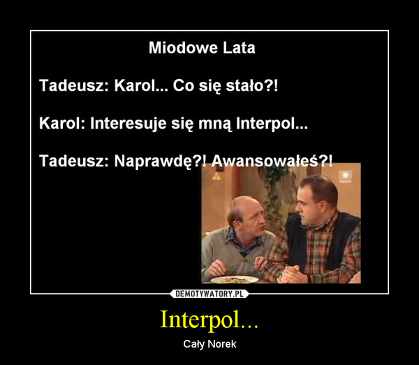 Interpol... – Cały Norek