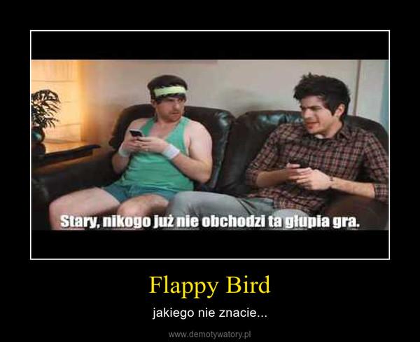 Flappy Bird – jakiego nie znacie...