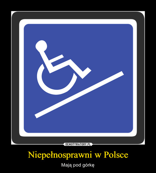 Niepełnosprawni w Polsce