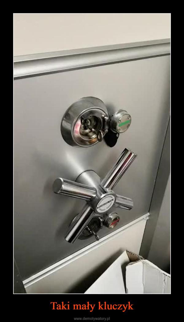 Taki mały kluczyk –