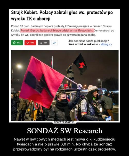 SONDAŻ SW Research