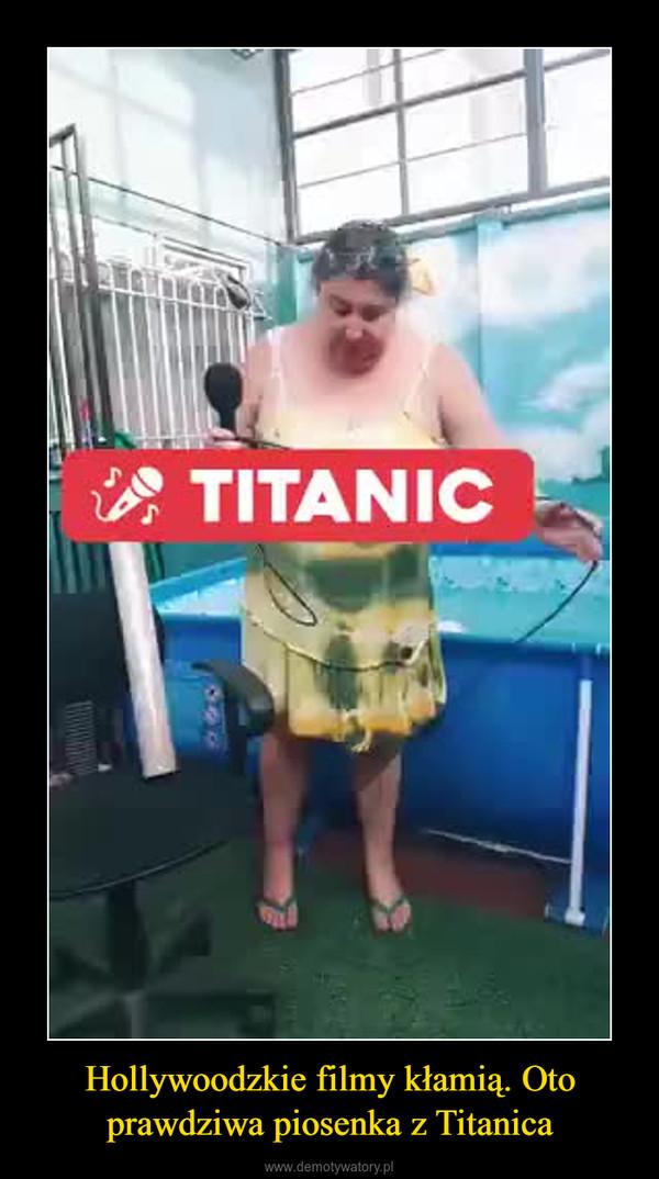 Hollywoodzkie filmy kłamią. Oto prawdziwa piosenka z Titanica –