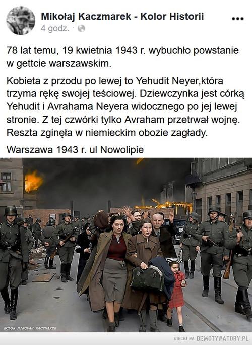 Warszawa, 1943