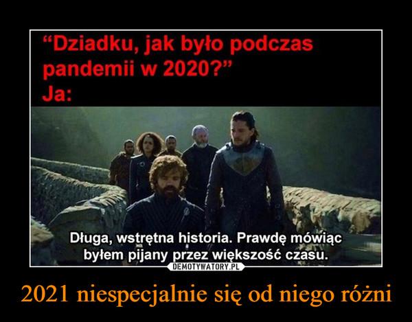 2021 niespecjalnie się od niego różni –