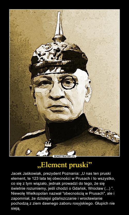 """Element pruski"""