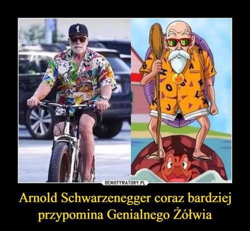 Arnold Schwarzenegger coraz bardziej przypomina Genialnego Żółwia