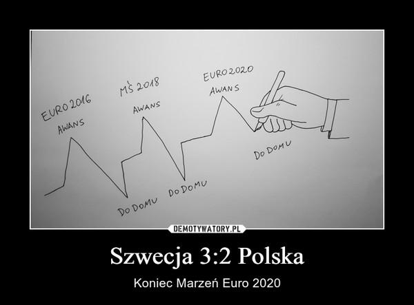 Szwecja 3:2 Polska – Koniec Marzeń Euro 2020