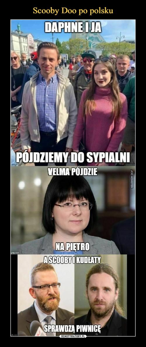 Scooby Doo po polsku