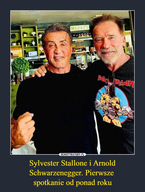 Sylvester Stallone i Arnold Schwarzenegger. Pierwsze  spotkanie od ponad roku