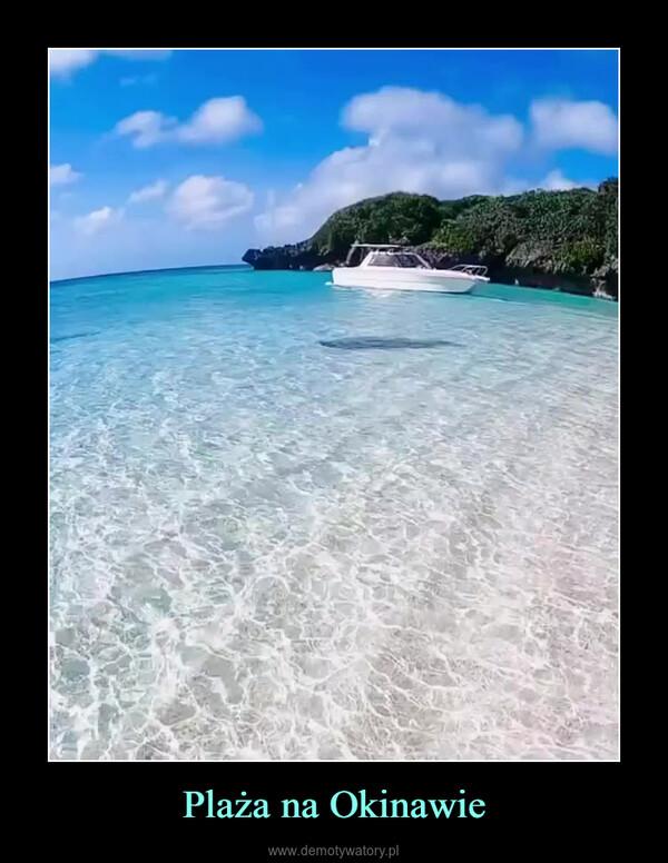 Plaża na Okinawie –