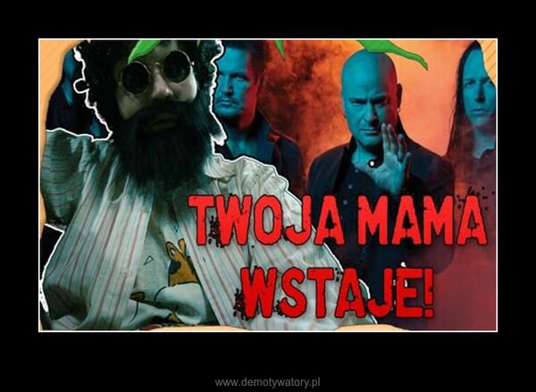 """Down with the Sickness """"Zcebulszczone"""" na polski? –"""