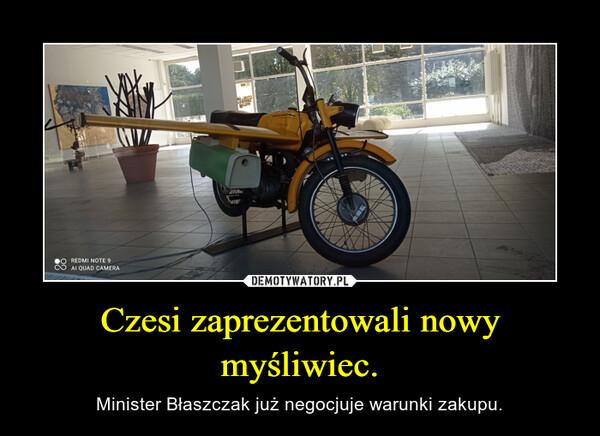 Czesi zaprezentowali nowy myśliwiec. – Minister Błaszczak już negocjuje warunki zakupu.
