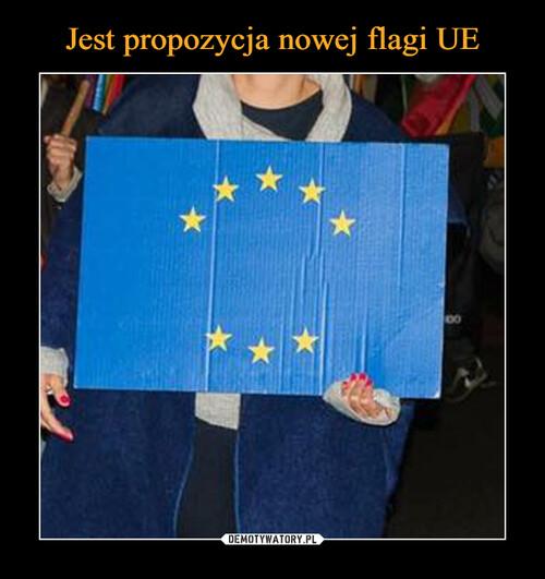 Jest propozycja nowej flagi UE